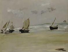 Édouard Manet, The Beach at Berck Denver art museum passport to Paris