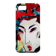 Ginette Fine Art #Japanese #Woman @DENYDesigns Home Accessories Cell Phone Case | DENY Designs Home Accessories