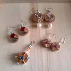Craft Project: Wine Cork Earrings/Charms