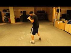 The Best and Hardest Boxing Footwork Drill Ever – Boxing footwork, boxing…