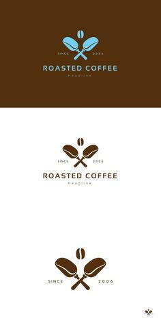 Roasted coffee logo.. Logo Templates. $29.00