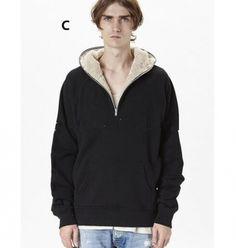 Men/'s Women Fear Of God FOG Zipper Pullover Hoodie Sweatshirts Hooded Hip-hop