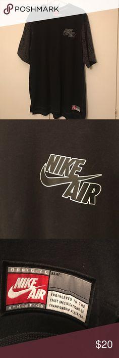 Nike Shirt Nike Air shirt (thick-almost like a sweater) leopard & cheetah print on the sleeves Nike Shirts Tees - Short Sleeve