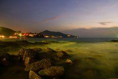 Night lights Surin beach, Thailand, Phuket by Tanya Khardova on 500px