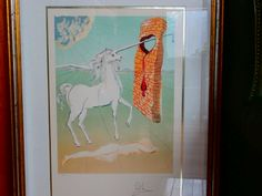 """1978 Salvador Dali """"The Agony Of Love"""" Certified Lithograph by pasttimejewelry on Etsy"""