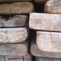 Wood from genbrug.dk...