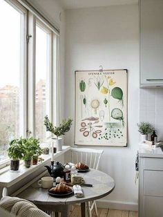 Small eat-in kitchen