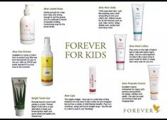 Forever products for kids: