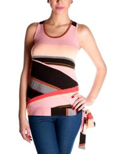 Fun fact for you: this awesome Desigual tank has a racer-back!