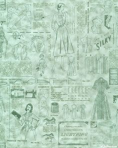 Makower Sew Retro - Pattern Instructions - Quilt Fabrics from www.eQuilter.com