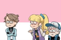 Opps someone just said her OS loudly xD My PC internet suddenly won't work this afternoon Q_Q Thank goodness I can still use my phone… Reverse Gravity Falls, Gravity Falls Funny, Gravity Falls Anime, Gravity Falls Comics, Reverse Falls, Dipper And Pacifica, Mabel Pines, Dipper Pines, Dipcifica