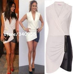 Hot Sale Women Celebrity New Fashion Elegant Patchwork Sexy Women Mini Dresses-in Dresses from Apparel & Accessories on Aliexpress.com | Alibaba Group