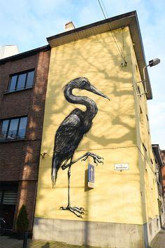 Street art à Gand en Flandres
