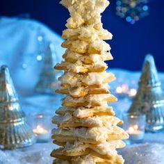 Scandinavian Christmas Cookie Tree
