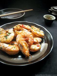 Chinese Salt Pepper Prawns/ Shrimps Recipe 椒盐虾