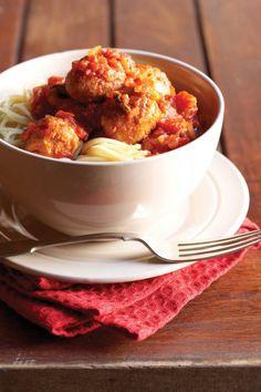Spaghetti met tuna-frikkadelle   SARIE