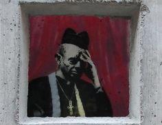 See pictures of Banksy street art creations in New York. Street Art Banksy, Banksy Work, Banksy Paintings, Graffiti Artwork, London Calling, Arte Banksy, Bansky, Banksy Graffiti, Banksy New York