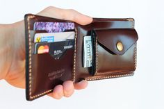 Items similar to Coin wallet Leather wallet Mens wallet Husband gift Mens gift for coworker Personalized wallet Change wallet Bi fold wallet Anniversary gift on Etsy Handmade Leather Wallet, Leather Card Wallet, Leather Pouch, Cow Leather, Leather Wallets, Pink Leather, Wallet With Coin Pocket, Coin Wallet, Gifts For Coworkers
