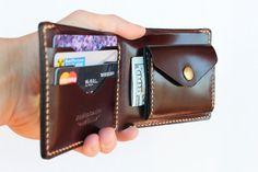 Leder Brieftasche Münze Münze Tasche Geldbörse, Brieftasche Leder Geldbörse Herren Brieftasche Freund Geschenk Mann Geschenk Bifold Geldbörse