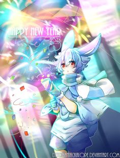 Happy New Year! by DeadmanJackalope