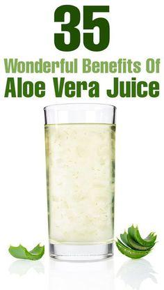 I drink Aloe Vera fi