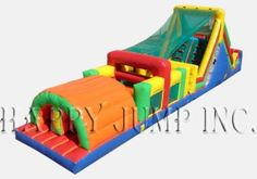Inflatable Interactive Games: Supreme Obstacle Course - IG5131