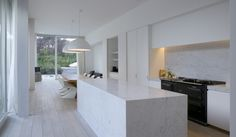 D interieur | Kitchen | Marble Cooking Island