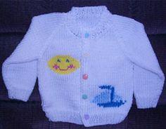 Free Knitting Pattern - Baby Sweaters: Baby/Toddler/Child Raglan