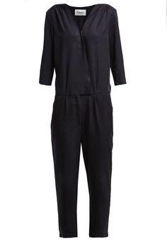 Ganni Overall / Jumpsuit /Buksedragter - black - Zalando.dk