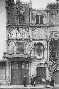 Le Ciel de Paris, the famous French restaurant overlooking the city. 1900
