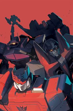 IDW's tumblr released my Primacy variant cover, so I figured I could share the clean version! Love them bad boys.