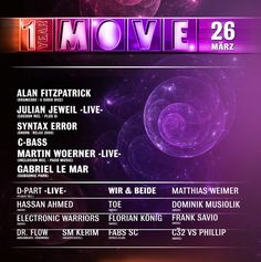 Move at Tanzhaus West  #move #elektronischeTanzmusik