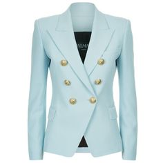 Designer Clothes, Shoes & Bags for Women Balmain Jacket, Balmain Blazer, Blazers For Women, Suits For Women, Jackets For Women, Blazer Buttons, Jacket Buttons, Tailored Jacket, Blazer Jacket
