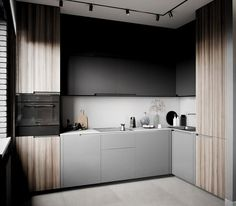 How to Create an Impressive Scandinavian Kitchen - Des Home Design Kitchen Room Design, Rustic Kitchen Design, Home Decor Kitchen, Interior Design Kitchen, Kitchen Cabinet Design, Kitchen Tiles, Scandinavian Kitchen Cabinets, European Kitchens, Small Living Room Furniture