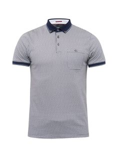 f3c4a3ac2ee29 Ted Baker Enders Short Sleeve All Over Print Polo Shirt - House of Fraser