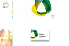 Rio Klub - business card and folder design Folder Design, Box Design, Business Cards, Rio, Chart, Graphic Design, How To Plan, Projects, Image