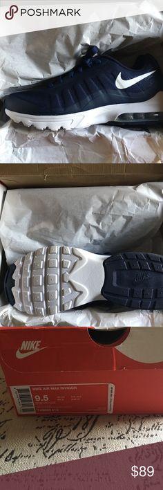 innovative design 15868 21690 Air max invigor 9.5 blue Brand new Nike Shoes Sneakers