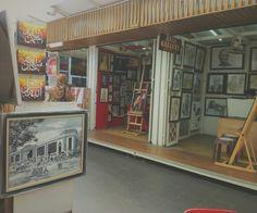Art exhibition at Central Market, Kuala Lumpur