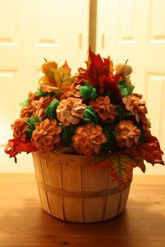 Fall Cupcakes | Fall Cupcake Bouquet