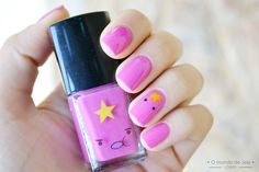 LSP nail art #adventuretime