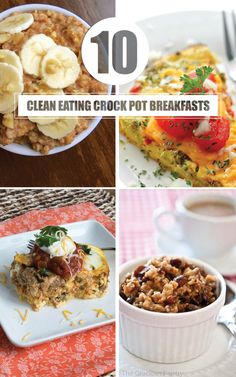 Clean eating crock pot recipes for breakfast