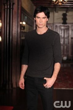 """The Ties That Bind""--Ian Somerhalder as Damon on THE VAMPIRE DIARIES on The CW. Photo: Quantrell D. Colbert/The CW ©2011 THE CW NETWORK. ALL RIGHT RESERVED."
