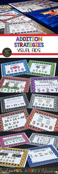 Do your math students depend on counting fingers to solve addition problems? Click this link to see what other math teachers have to say about this bundle of addition strategies and anchor charts.  Your students will soon be equipped to solve any addition problem as they choose from a plethora of addition strategies.
