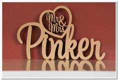 Wooden Names, Heart, Link, How To Make, Wedding, Valentines Day Weddings, Weddings, Marriage, Hearts