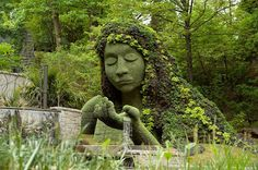 Esculturas vivientes gigantes en el Jardín Botánico de Atlanta - http://www.jardineriaon.com/esculturas-vivientes-gigantes-en-el-jardin-botanico-de-atlanta.html