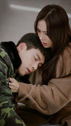 Crash Landing On You-Korean Drama-Subtitle Korean Drama Best, Korean Drama Movies, Korean Actresses, Korean Actors, Best Kdrama, Airplane Photography, Hyun Bin, Korean Entertainment, Movies