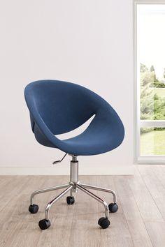 Cilek Relax Schreibtischsessel Blau Mit den Relaxsesseln der Firma Cilek, weht ein Hauch der bunten 70er Jahre ins Haus. Die ergonomisch geformten Sitzschalen unterstützen lange Schreibtischarbeiten nicht nur optisch, sondern auch...