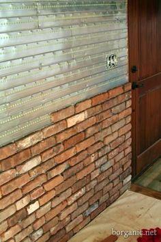 Kapataz ideas tools for building como instalar tu for Ladrillos falsos decorativos