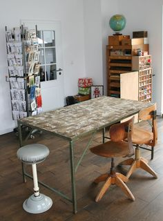 atelier( great table ! )