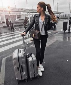 Travel Outfits Airport style: How To Look Fashionable During Travel